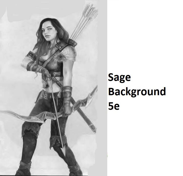 Sage Background 5e dnd
