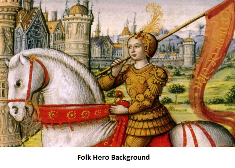 Folk Hero Background