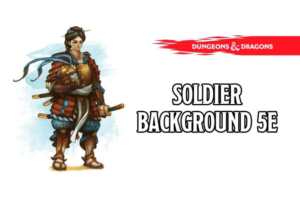 Soldier Background 5e