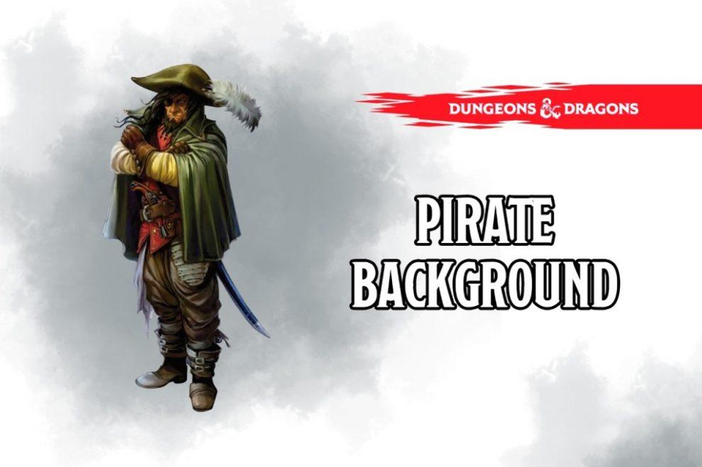 Pirate Background 5e