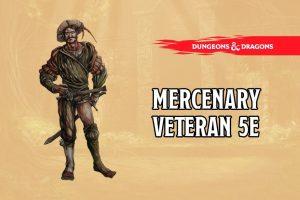 Mercenary Veteran 5e
