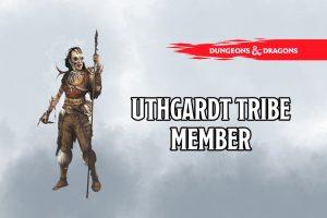 Uthgardt Tribe Member