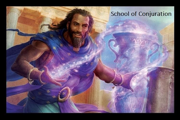 School of Conjuration wizard