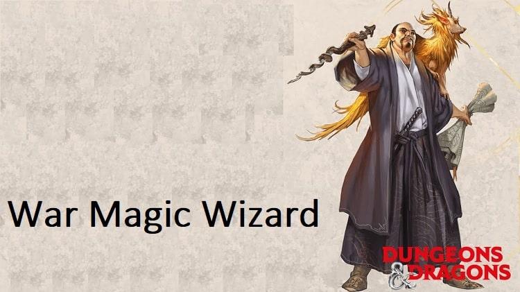 War Magic wizard